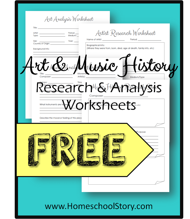FREE: History Through Art & Music