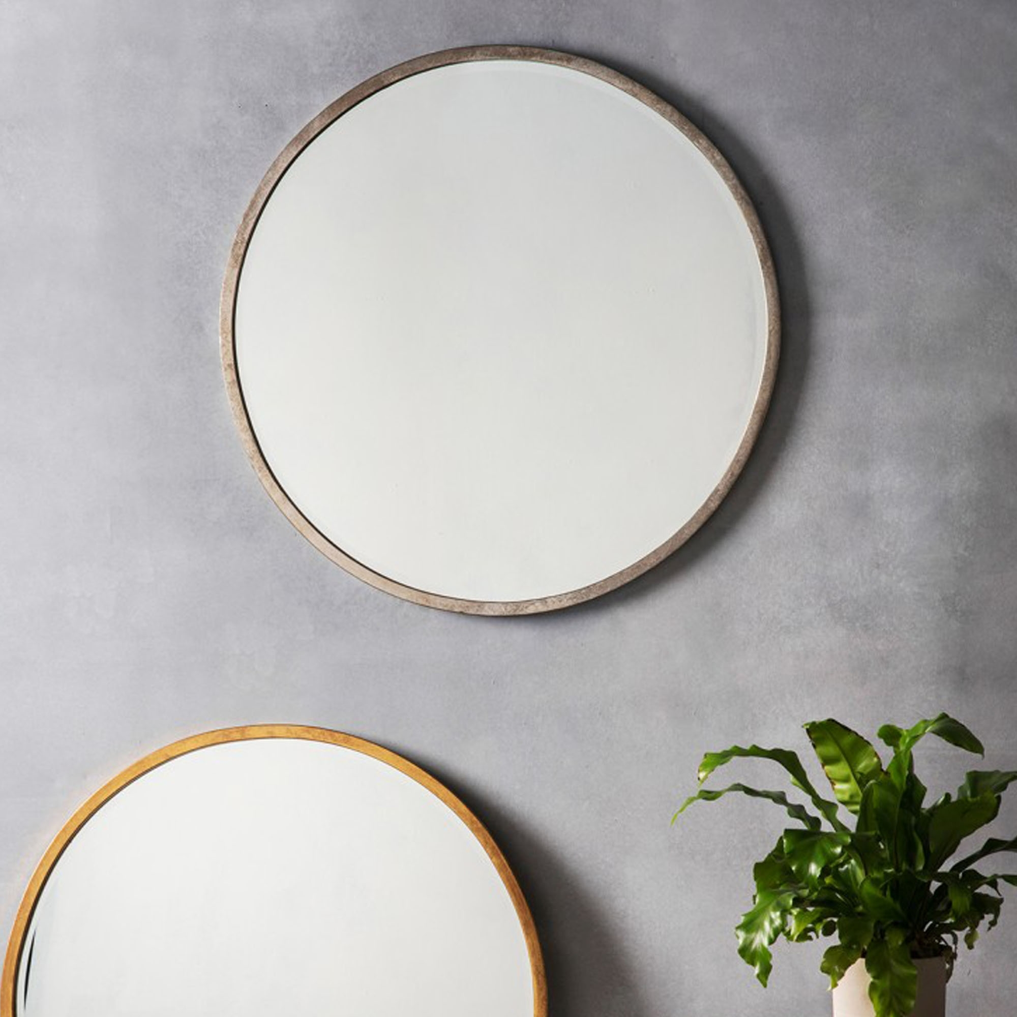 Fullsize Of Round Wall Mirror