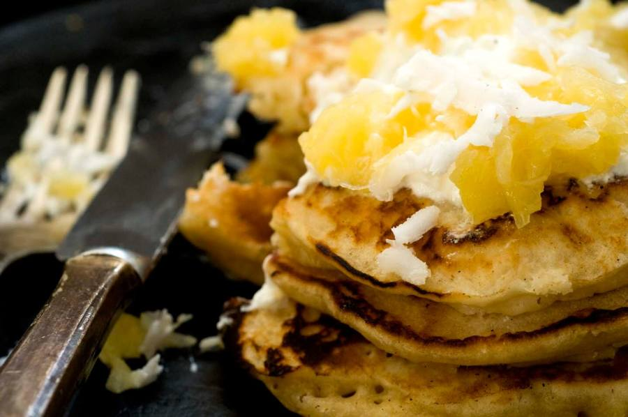 Mexican pancakes with coconut | Homesick Texan