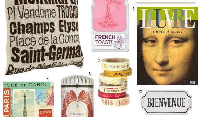 Paris Inspired Gift Guide :: Like / Want / Need
