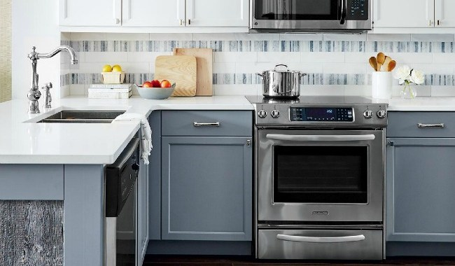 Reader's Choice: Two Toned Kitchen Cabinets