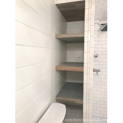 Small Crop Of Bathroom Shelf Wall