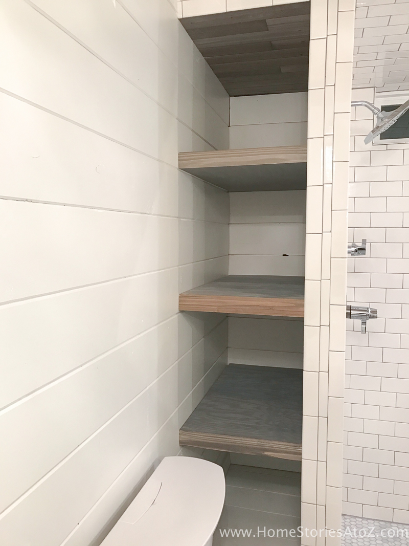 Large Of Bathroom Shelf Wall