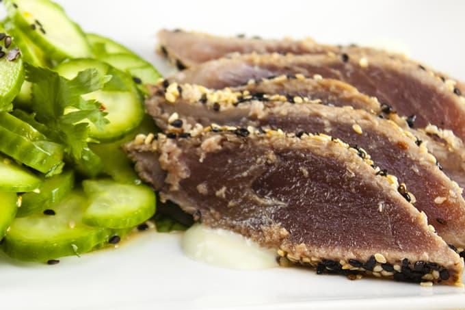 Paleo Wasabi Yellowfin Tuna