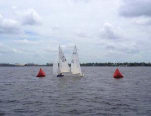 Sailboat races are becoming increasingly popular in Charlotte Harbor.