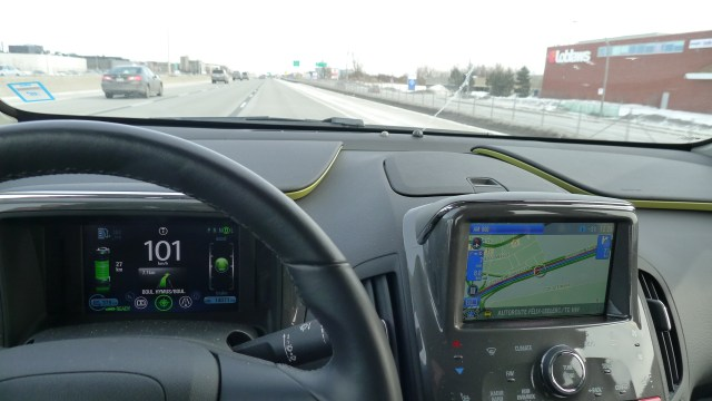 Chevrolet Volt Dash