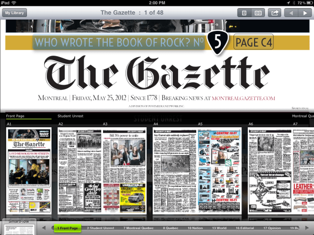 Montreal Gazette in PressReader