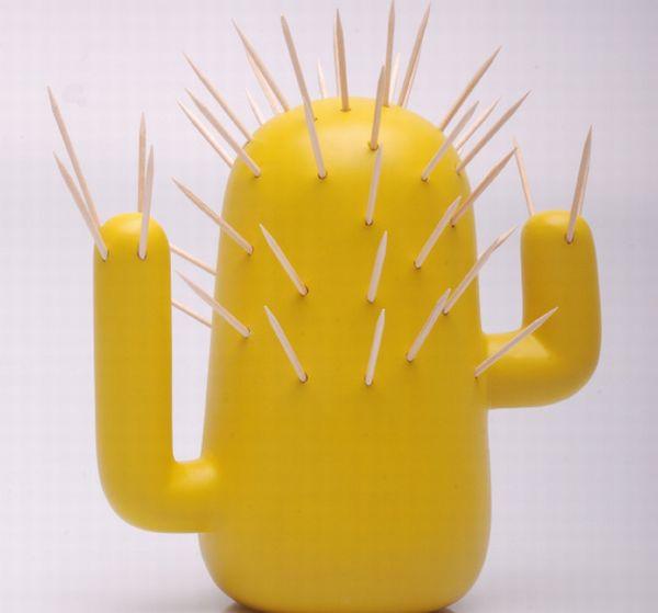10 unusual yet interesting toothpick holders hometone - Cactus toothpick holder ...