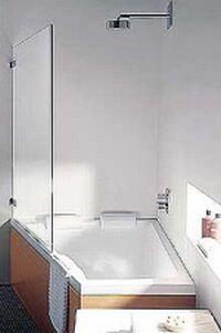 corner tub
