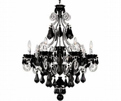 10 Gorgeous Black Chandeliers Hometone