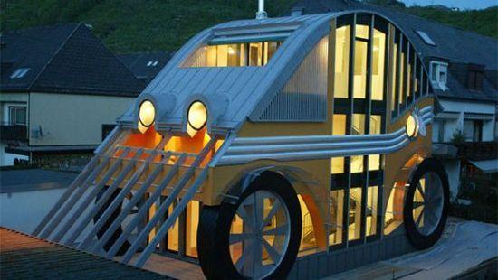 german architecture auto house 1