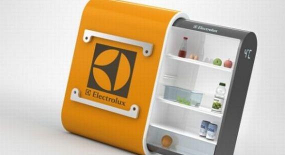 Unique refrigerator concepts