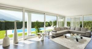 Modern villa, interior