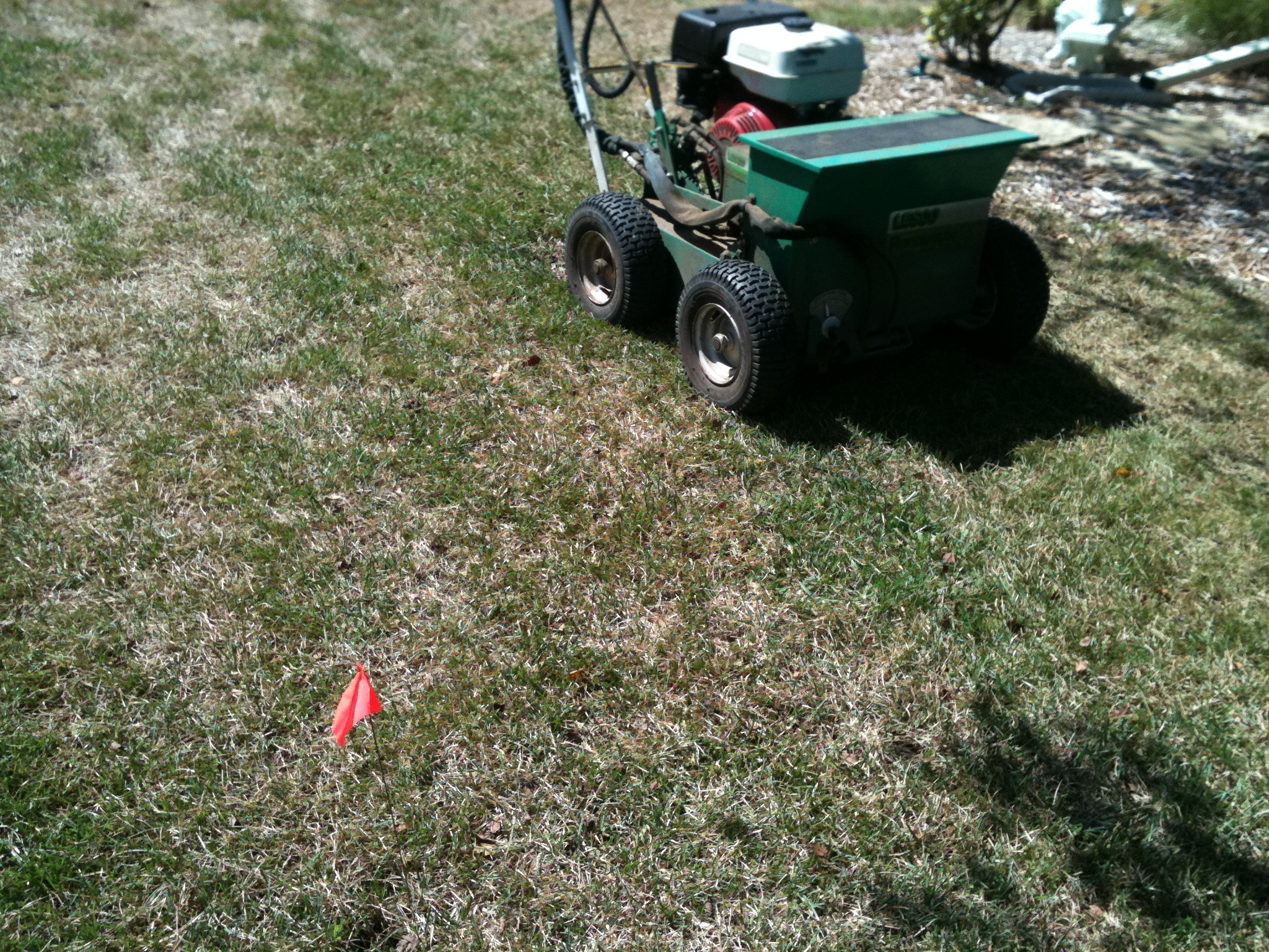 Glancing Lawns Liquid Gypsum Lawns So You Want Your Yard Aerate Verticut Overseed Core Aerating Verticut Overseed Hometown Llc Gypsum houzz-02 Gypsum For Lawns