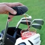 hidden golf club drink dispenser