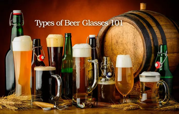 Types of Beer Glasses 101