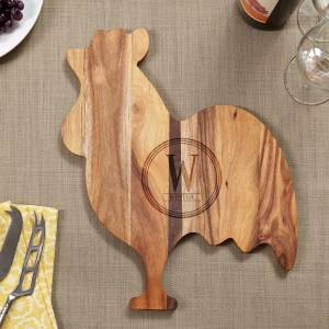 Rooster Cheese Board
