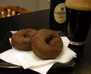 Black and Tan Donut