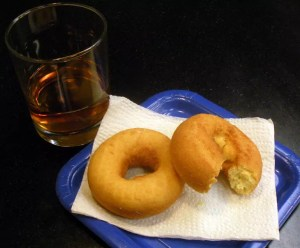 Old Fashioned Cocktail Donut