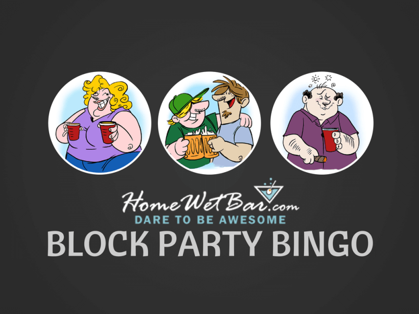 Block Party Bingo Party Game