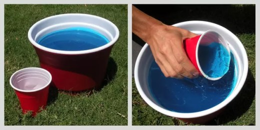 Bucket of Jello Shots