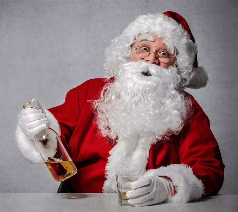 Funny Christmas Pictures of Santa Claus