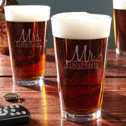 Small Of Personalized Pint Glasses