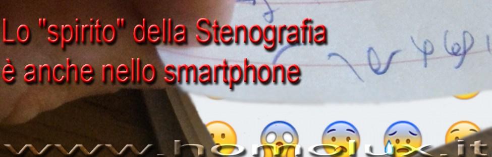 """Lo """"spirito"""" della Stenografia è anche nello smartphone"""