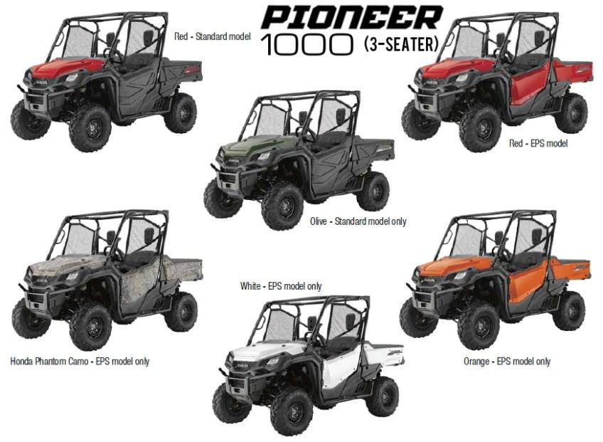 2016 honda pioneer 1000  u0026 1000  videos    pictures