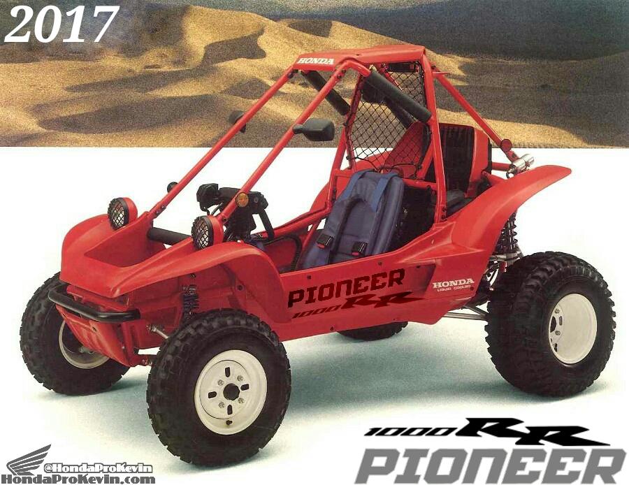 Pioneer 1000RR – 2017 / Year of the Honda Sport SxS / UTV / Side by ...
