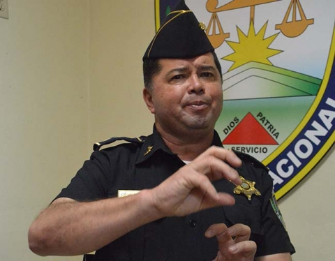 Honduran National Police Director Ramon Sabillon