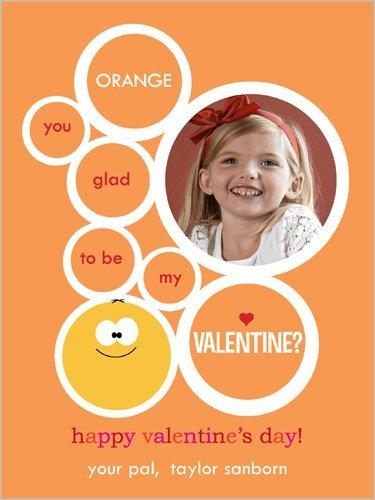 Valentine's classroom photo card from Shutterfly