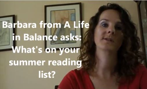 VlogMom What is on your summer reading list