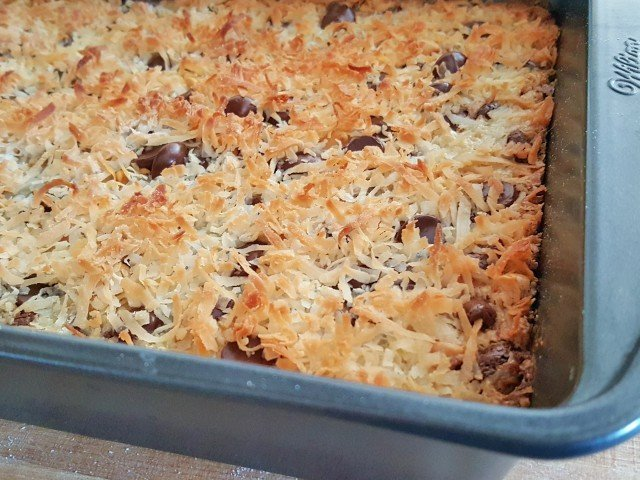 Gluten Free 7 Layer Bars Recipe - Ready in 30 Minutes