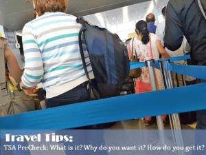 TSA PreCheck Tips and tricks from a travel pro