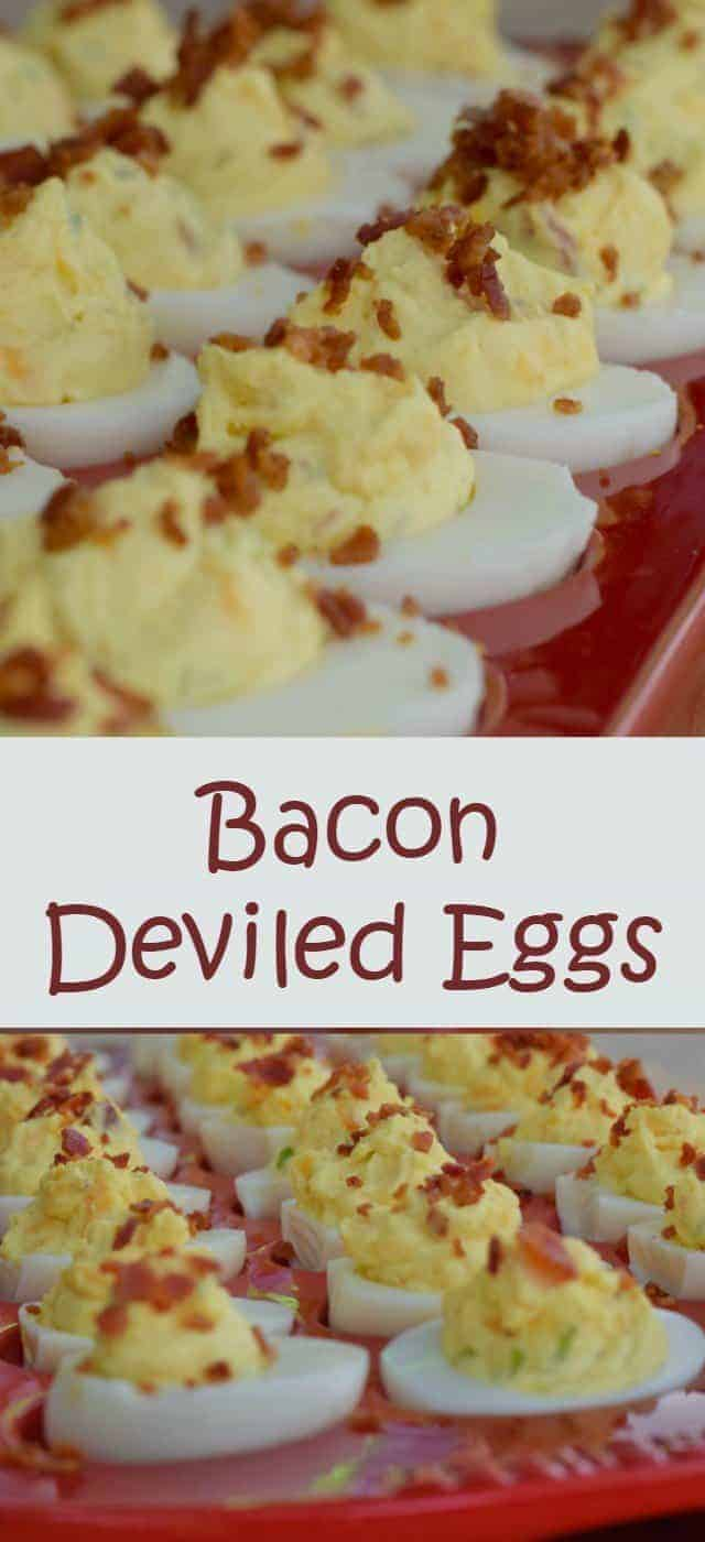 Bacon deviled eggs recipe - easy to make, easier to eat. Perfect ...