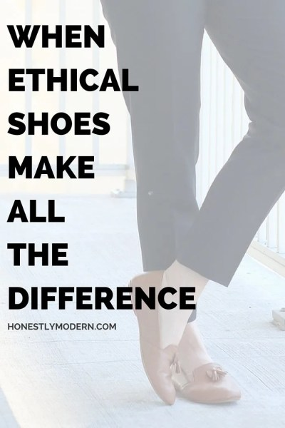 When Ethical Shoes Make All The Difference