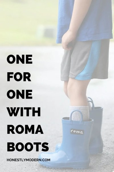 One For One With Roma Boots