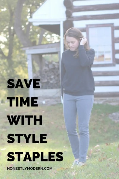 Create Time: Addition By Subtraction in Your Closet