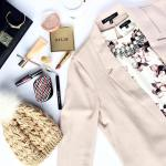 ootd details muted blush fall florals and minimal makeup Signhellip