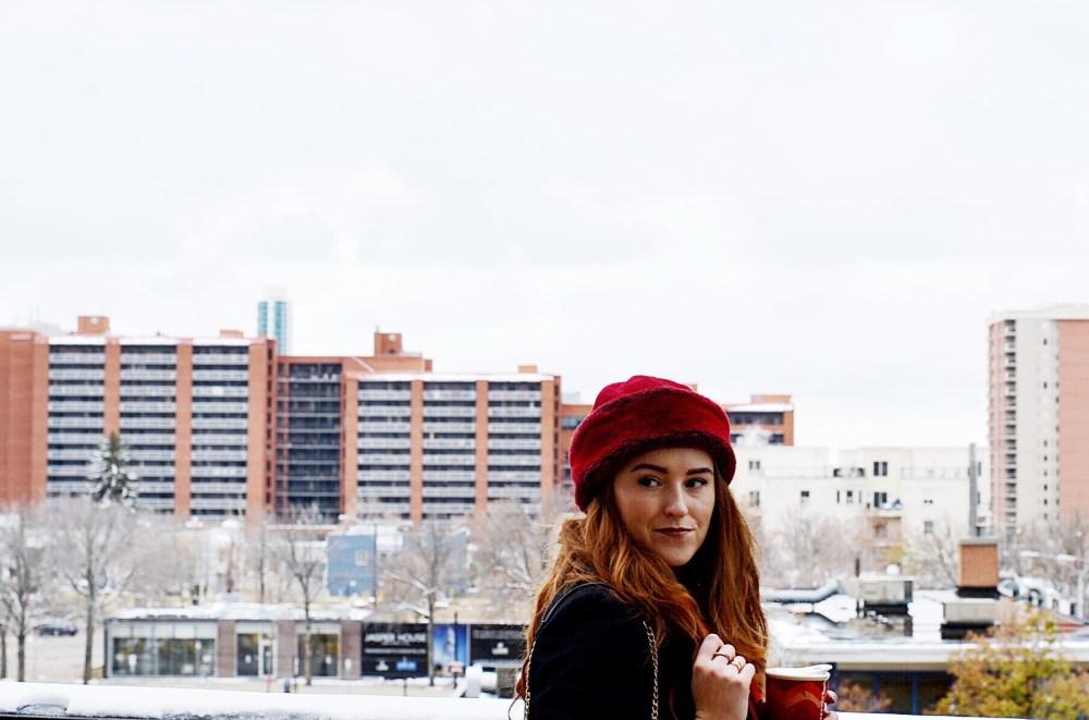 Downtown Edmonton Fashion Blogger