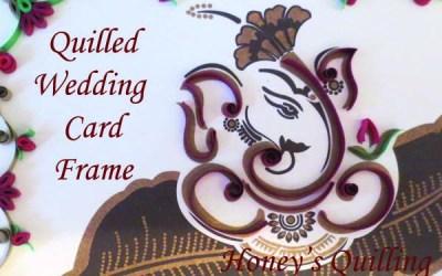 Ganesha Wedding Invitation Frame Gift