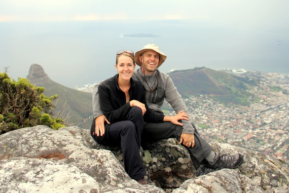 around-the-world honeymooners