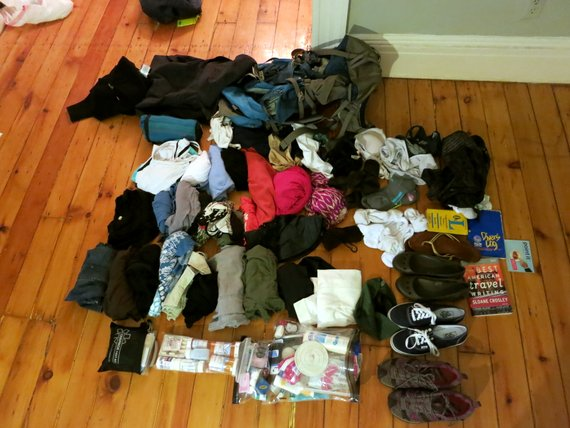women's rtw packing list