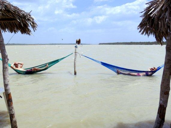 Lagoons at Jericoacoara, Brazil