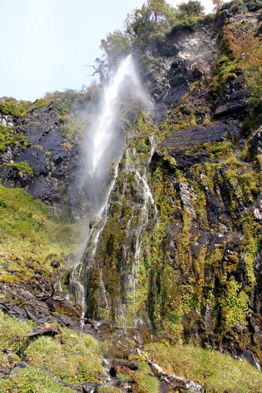 Waterfalls of Perito Moreno