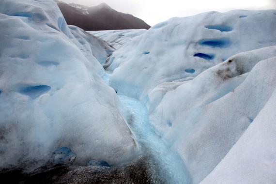 Blue Ice of Perito Moreno