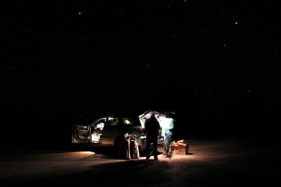 Jorge Antonio Corante Fernández Stargazing in Atacama desert Chile