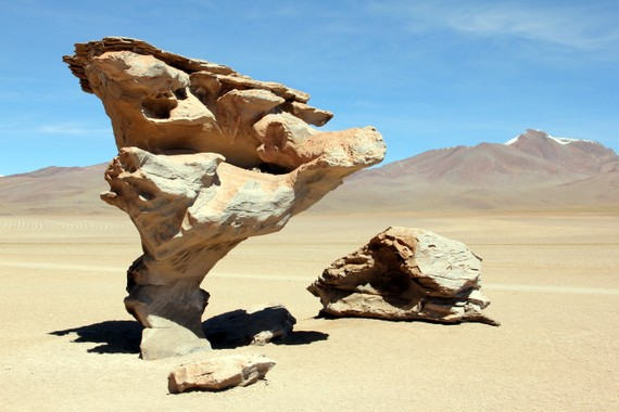 The Arbol de Piedra in Bolivia