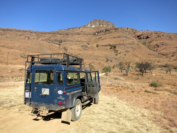 Drakensburg Adventures over the Sani Pass into Lesotho